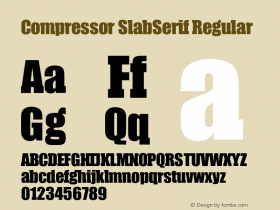 Compressor SlabSerif