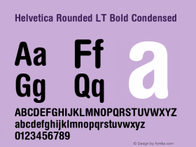 Helvetica Rounded LT