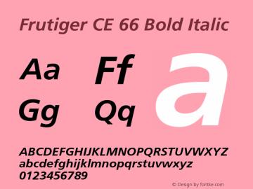 Frutiger CE 66