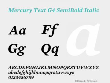 Mercury Text G4