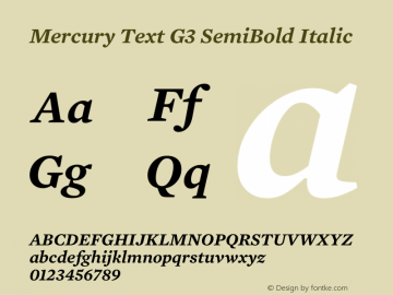 Mercury Text G3