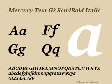 Mercury Text G2