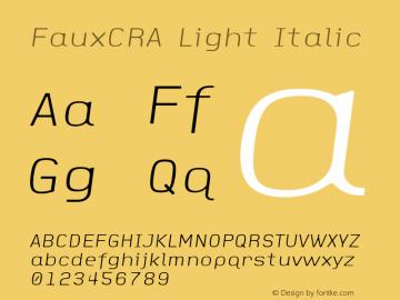 FauxCRA Light