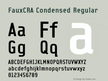FauxCRA Condensed