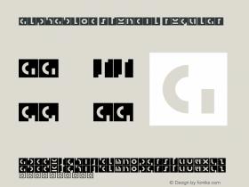 AlphaBloc Stencil