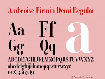 Ambroise Firmin Demi