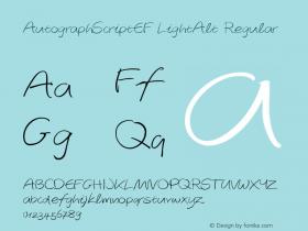 AutographScriptEF LightAlt