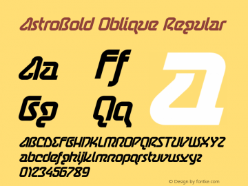 AstroBold Oblique