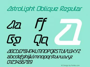AstroLight Oblique