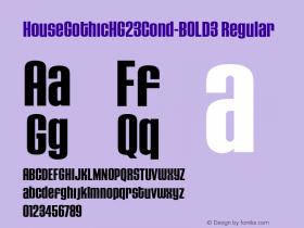 HouseGothicHG23Cond-BOLD3