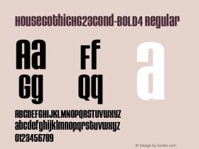 HouseGothicHG23Cond-BOLD4