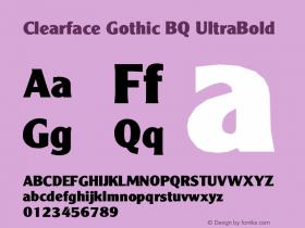 Clearface Gothic BQ