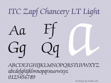 ITC Zapf Chancery LT