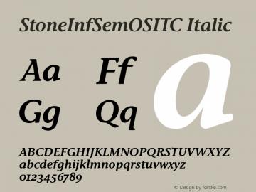 StoneInfSemOSITC