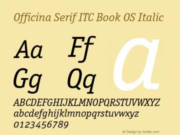 Officina Serif ITC Book OS