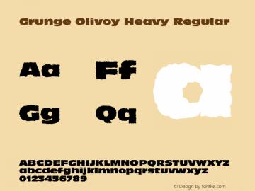 Grunge Olivoy Heavy