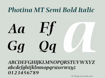 Photina MT Semi
