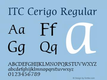 ITC Cerigo