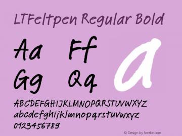 LTFeltpen Regular