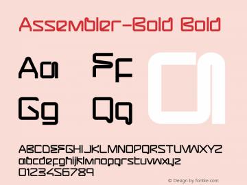Assembler-Bold