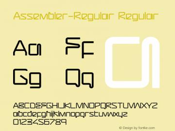 Assembler-Regular