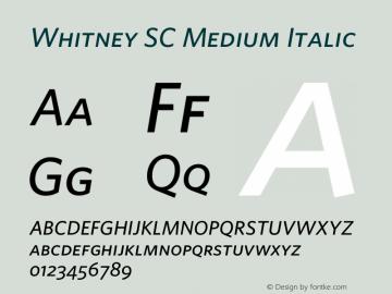 Whitney SC