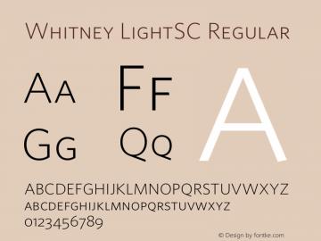 Whitney LightSC