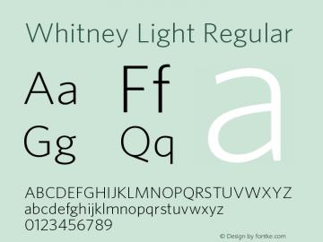 Whitney Light