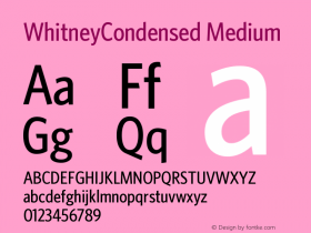 WhitneyCondensed