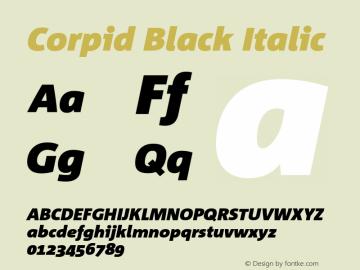 Corpid Black