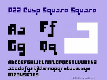 P22 Cusp Square