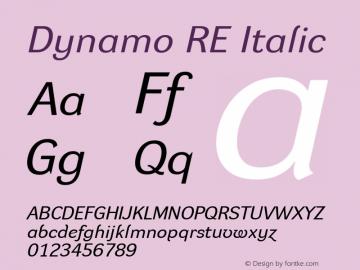Dynamo RE