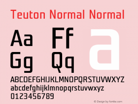 Teuton Normal