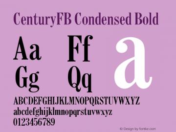 CenturyFB Condensed
