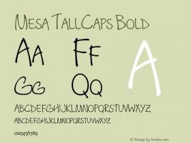 Mesa TallCaps