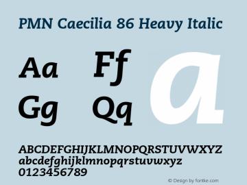 PMN Caecilia 86 Heavy