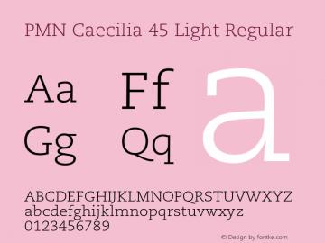 PMN Caecilia 45 Light