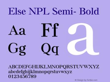 Else NPL Semi-