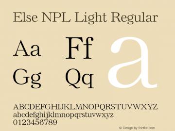 Else NPL Light
