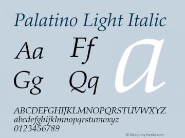 Palatino Light