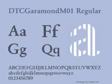 DTCGaramondM01