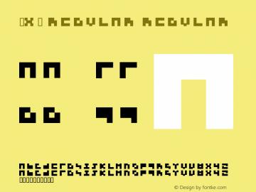 3x3 regular