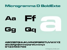 Microgramma D