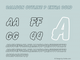 Balloon Outline P