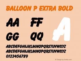 Balloon P