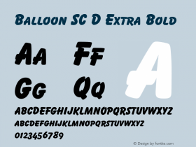 Balloon SC D