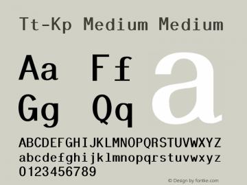 Tt-Kp Medium