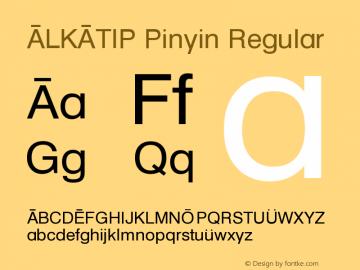 ALKATIP Pinyin