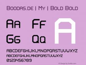 Boodas.de | My | Bold