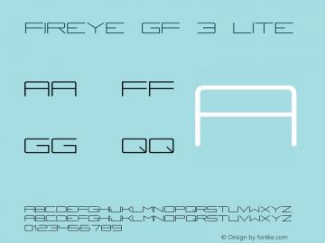 Fireye GF 3